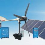 Instalaciones aisladas con fotovoltaica y eólica