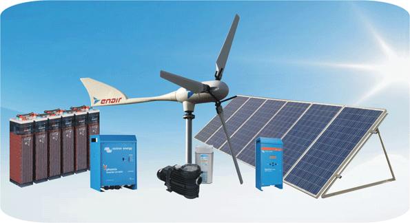 Instalaciones aisladas con fotovoltaica y eól…